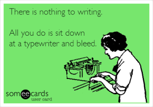 Writer Bleeding
